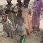 Bambini del Villaggio visitato