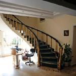 Reception, Stairs & Entrance