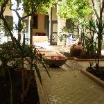 one of the central square's in this riad