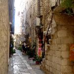 Narrow Hvar Town street