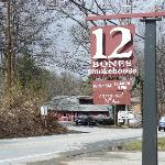 12 Bones sign and entrance.