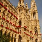 Town Hall, Vienna.