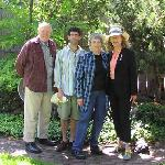 Browns & Ferrises inCowslip's Belle garden