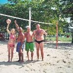 Beim Volleyball