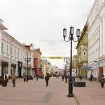 the historical street of N. Novgorod