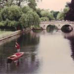 Clare Bridge over the River Cam