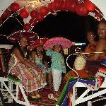 Mexicains en calèche, Ixtapa