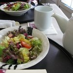 salad with meal