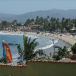 The beach at Guayabitos