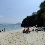 Beach on Coral Island