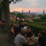 Sunset over Bamberg