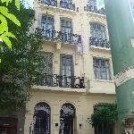 Hotel depuis la rue