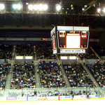 Pensacola Ice Flyers vs. Mississisppi Surge.. The most southern team won, wonder if there is eve
