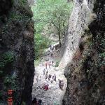 Beklimming Tepozteco Tepoztlan, Morelos, México 2004