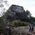 Tempel van TepoztlanSantuario del Cerro Tepoztecogewijd aan TepoztecatlTepoztlan, Morelos,