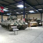 Vista di insieme di parte della sala tedesca