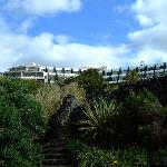 Cliff top hotel