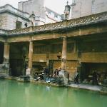 Roman baths at Bath, England - 2004
