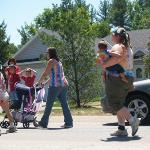 ... and those who followed it. yup. real teen parents... and some kids wearing diapers