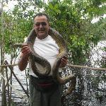 Con una Anaconda