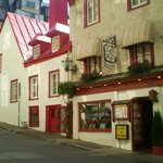 Le cafe de la Paix -- Best lunch special in Vieux Quebec