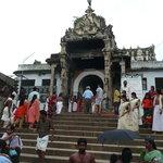 entrata del tempio Padmanabhaswamy