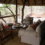 Hambleden Suite outdoor area