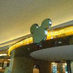 Chef Mickey sign