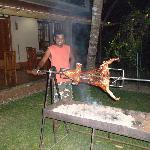Evening Dinner - Roast Suckling Pig