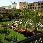 Courtyard area of Resort