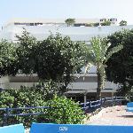 Cinema Hotel from Kikar Zina