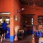 Breakfast and restaurant area