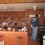 Kitchen at Zam-Mar