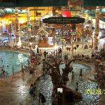The water park this place is huge