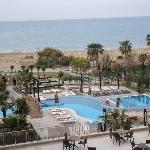 seaview with outdoor pool