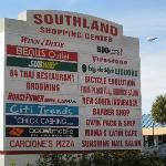 Southland Shopping Center - strip mall across street