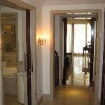 Luxury Ocean Room hallway