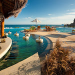 Pool bar at Pedregal