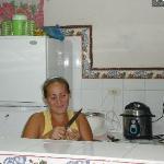 Lisebe, notre excellente cuisinière