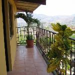 View of Matagalpa from our balcony