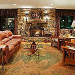 Enjoy the Fireplace & Lobby