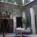 il patio interno