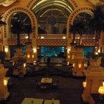The lobby of Atlantis