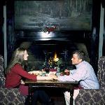 Fireside dining at the Red Coach Inn, Niagara Falls NY