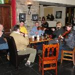 Music session at Mills Inn Pub