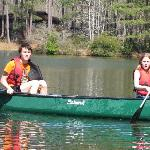 Canoeing on Lake Delanor