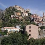 Corte, dřívější tajné hlavní město Korsiky