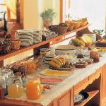Hotel Matina, Kamari Beach Santorini - Buffet Breakfast