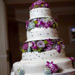 Cake by Haydels. Flowers by The Plant Gallery