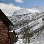 Wiew to Hemsedal skisenter